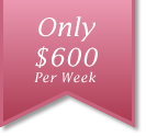 Only $600 Per Week